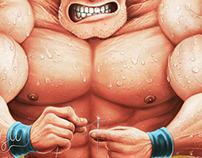 Musculoso Komatsu