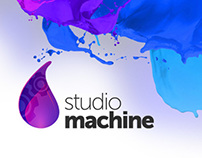 Studio Machine - Branding + Site