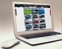 car rent web site