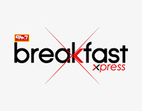 94.7 Breakfast Xpress Logo Design