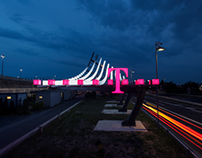 "TELEKOM LIGHT INSTALLATION ""TAKE OFF"""