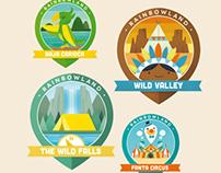 RAINBOWLAND Badges