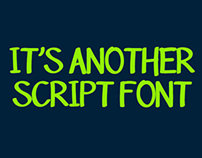 It's another script font