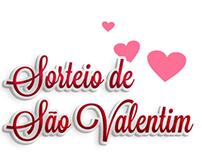 Casa de Eros | Sorteio de São Valentim