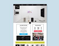 ARTMAX 2018: Landing Page