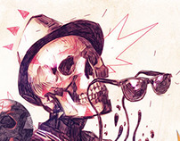 Skull Composition. Selector Marx