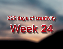 365 days of creativity/art - Week 24
