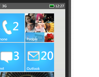 Windows Phone 7 - Concept UX