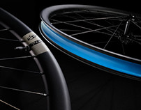 Ibis Cycles Hero Shots of 741 & 928 Carbon Wheels