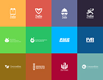 Logos, Mark & Brand Identity Collection of 2014 to 2015