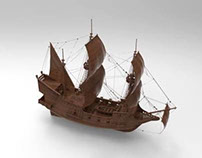 Spanish Ship from 1500