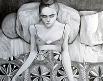 Women and Spaces (new drawings)