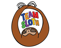 Team Sloth T-Shirt Design
