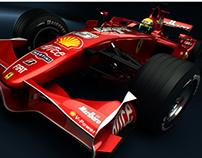 3D // Ferrari F1 - F2007