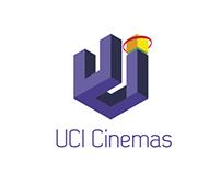 UCI cinemas -R E D E S I G N-