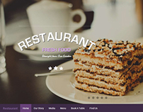 Restaurant - One Page Responsive Theme