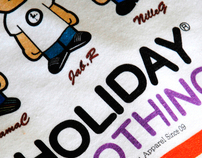 HOLIDAY®  - T-shirt collection