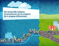Movistar. Marcha Ciclista Movistar.