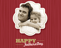 Fathers Day Wrapping Paper Design
