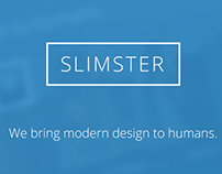 SLIMSTER - Wordpress Theme by Crowd-Themes.com