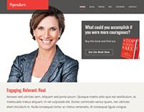 Speaker/Author Website Template