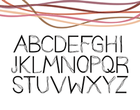 """""""Frayed Knot"""" display typeface"""