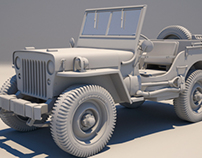 Jeep Willys: High Modelling
