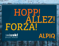 ALPIQ - Sponsoringkampagne
