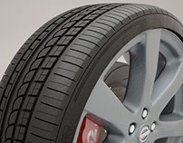Nissan GTR 2010: Tyre Modelling