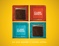 Cube Brew Instant Coffee Cubes