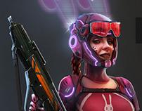 CS Bullet Bunny Mercenary