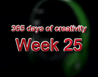 365 days of creativity/art - Week 25