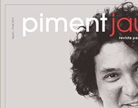 Piment jaune, school magazine project.