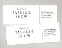 NSCAD Fashion Show // Layout