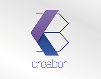 Creabor \ isologo design by Jaime Claure