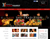 World Folkfest Website