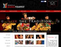 World Folkfest Website
