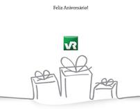 Cartão de Aniversário - VR
