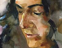Theresa (Watercolor)