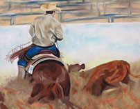 RODEO: Collection Piece | Pastel Painting