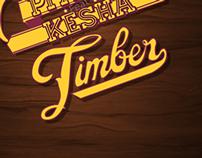Tipografia Cinética - TIMBER -