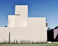 El muro pantalla y la arquitectura introspectiva