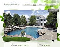 Landscape company website