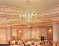 Banquet halls interior