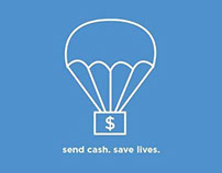 PSA Campaign: Send Cash, Save Lives | March 2014