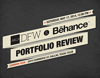 BEHANCE AND AIGA PORTFOLIO REVIEW DALLAS TX - May 2014