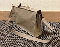 Double-Sided Briefcase/Bike Bag