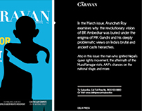 Caravan Ad in The Sunday Guardian