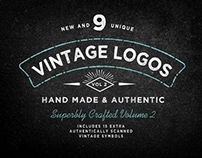 Vintage Logo Vector Bundle Vol 2