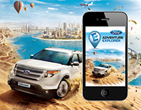The Ford Adventure Explorer Mobile Application